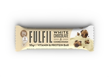 Fulfil White Choco & Cookie Dough 15x55gr